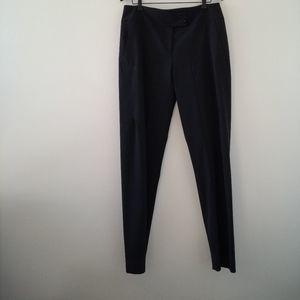 Lida Baday grey wool career pants trousers size 10